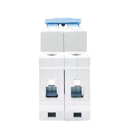 Disjuntor DC/CC 63A 1000V Bipolar P/ Painéis Solar / Baterias
