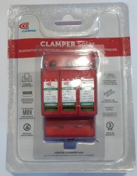 DPS - Dispositivo Proteção Surtos DC/CC CLAMPER SOLAR 600V 40kA