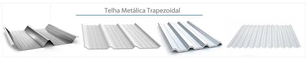 Estrutura Suporte 2 Painéis Solares Telha Metálica Trapezoidal