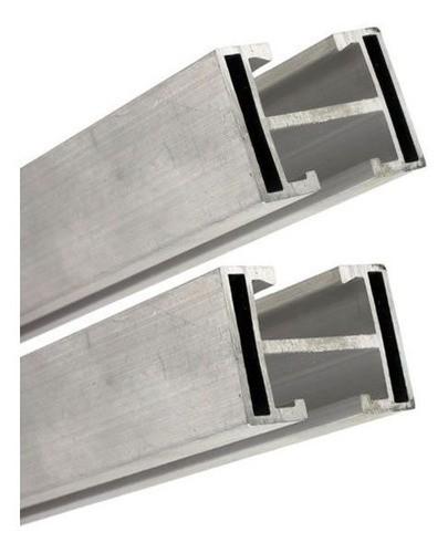 Estrutura Suporte 4 Painéis Solares Telha Cerâmica Cimento AL 3F