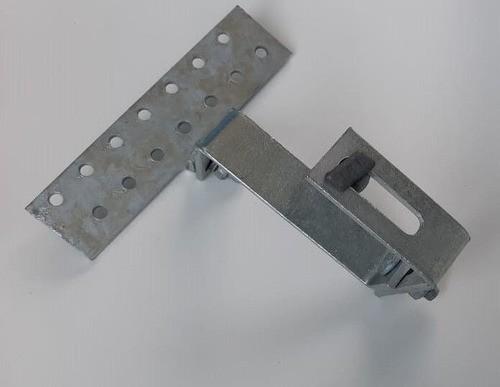 Estrutura Suporte Fixador P/ Perfil Painel Solar Galvanizado p/ Telha Cerâmica / Cimento c/ 6 Un