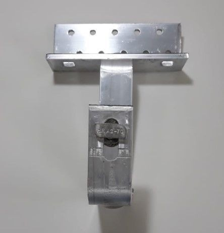 Fixador Gancho Estrutura Suporte P/ Perfil Painel Solar p/ Telha Colonial Alumínio C/ 4un