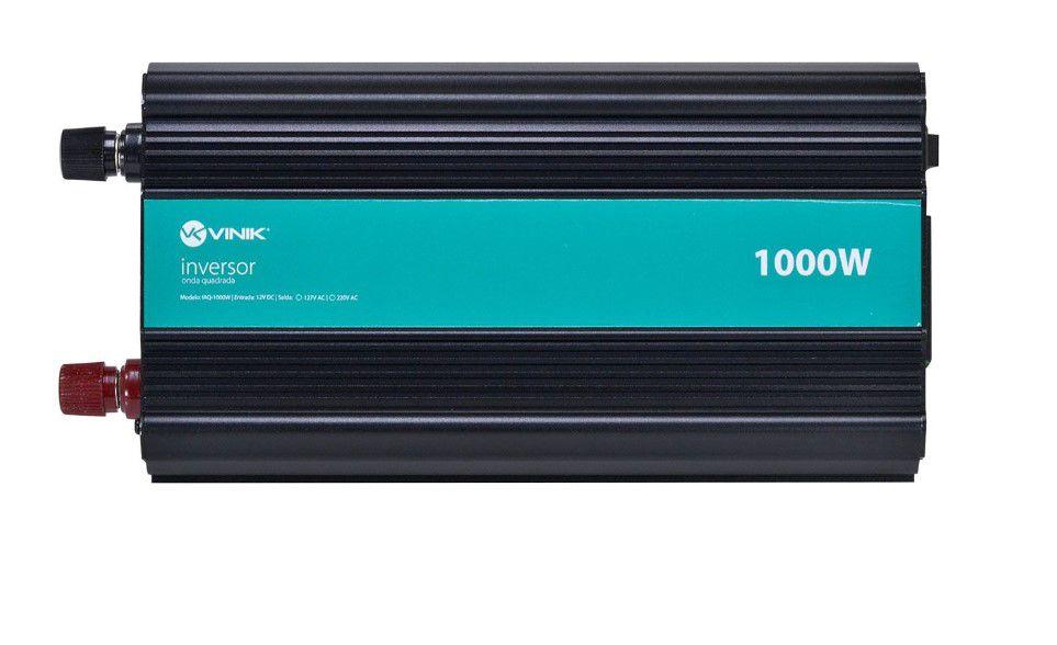 INVERSOR 1000W 12VDC/127V ONDA MODIFICADA VINIK