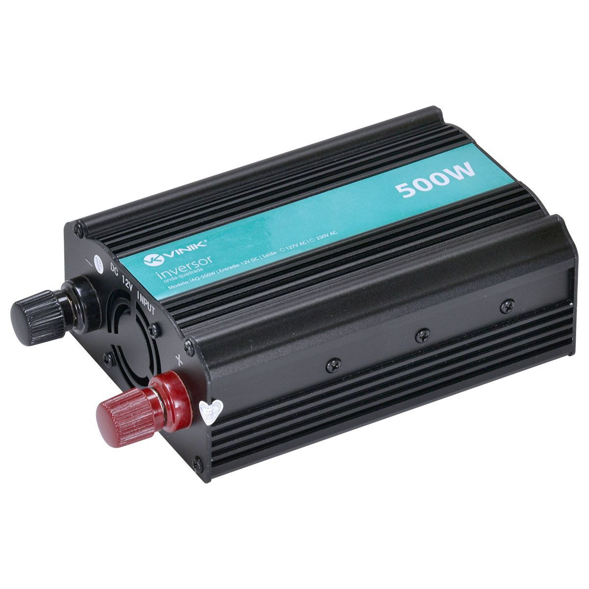 INVERSOR 500W 12VDC/220V ONDA MODIFICADA VINIK