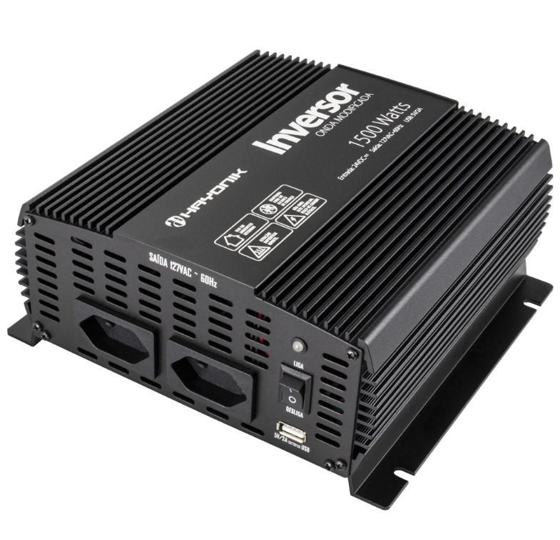 Inversor de Onda Modificada 1500W 24VDC/127V PW12-6 HAYONIK