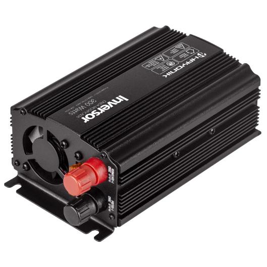 Inversor de Onda Modificada 300W 12VDC/220V USB Cinza Escuro