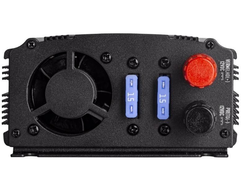 Inversor de Onda Modificada 500W 12VDC/220V  HAYONIK
