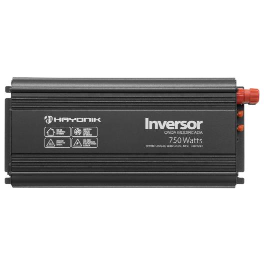 Inversor de Onda Modificada 750W 12VDC/127V HAYONIK - PW13-3