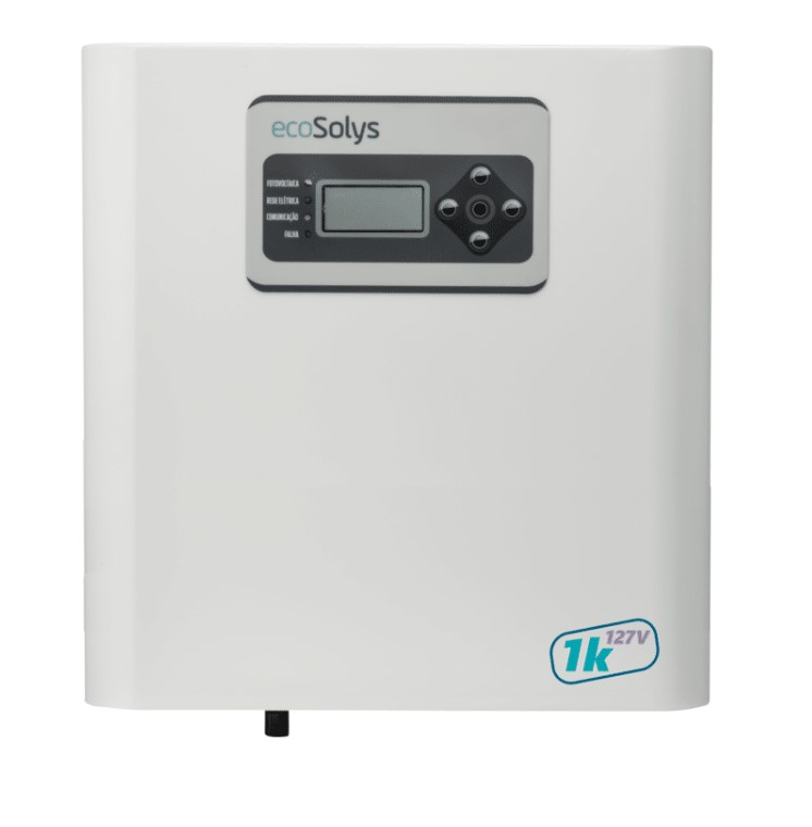 Inversor Solar Ecosolys Ecos-1000 1K 127V + Web-Box