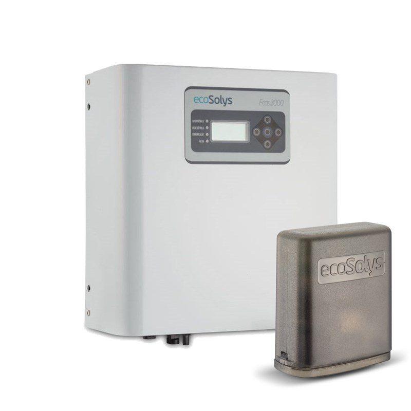 Inversor Solar Grid-Tie Ecosolys Ecos-2000 2kw Monofásico 220v  + EcoWeb-Box