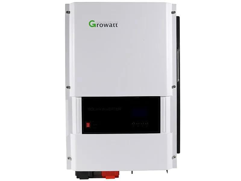INVERSOR SOLAR OFF GRID 8KW GROWATT SPF 8KT HVM E48V S230V ONDA SENOIDAL + CARREGADOR MPPT
