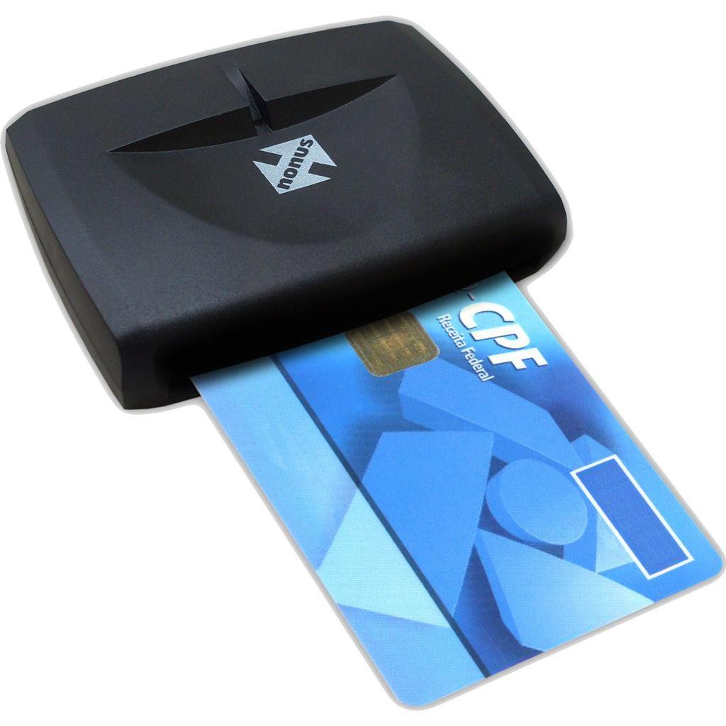 Leitor Certificado Digital A3 E-CPF E-CNPJ Smart Card USB
