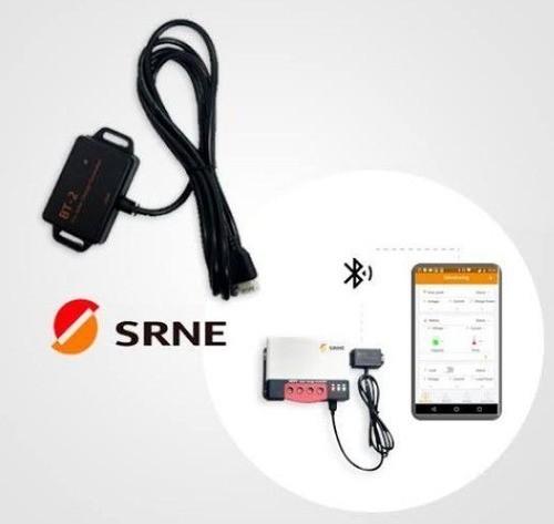 Modulo de Comunicação Bluetooth p/ Controlador MPPT SRNE BT-2