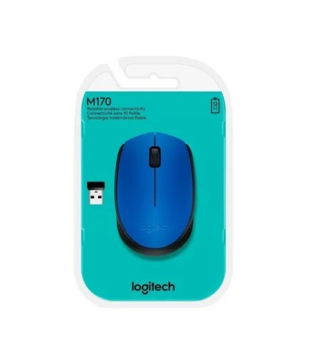 Mouse Logitech M170 Wireless Nano Azul