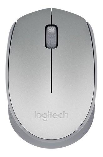 Mouse Logitech M170 Wireless Nano Prata