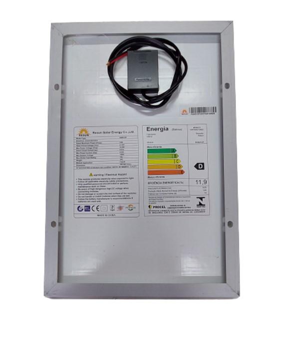 Painel Solar Fotovoltaico 10W - Resun RSM010-P