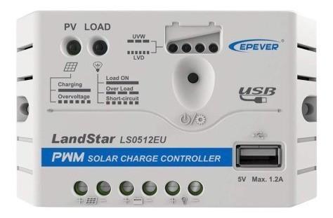 Painel Solar Yingli 60W + Controlador PWM 5A