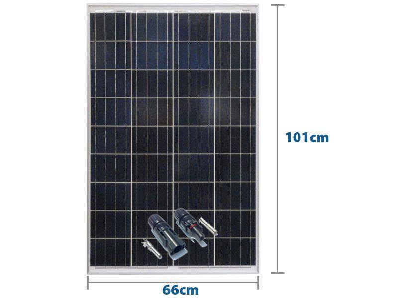 PAINEL SOLAR 100W YINGLI YL100P-17B 2/3 36 CÉL POLI + MC4