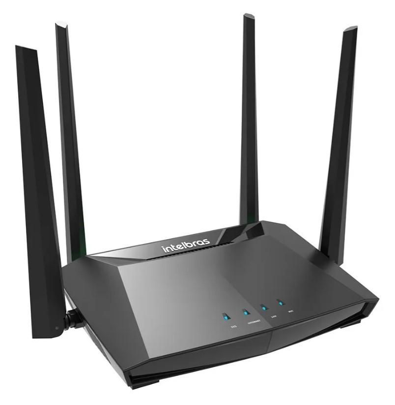 Roteador Wireless Intelbras ACtion RG 1200 Gigabit Dual Band 4 Antenas
