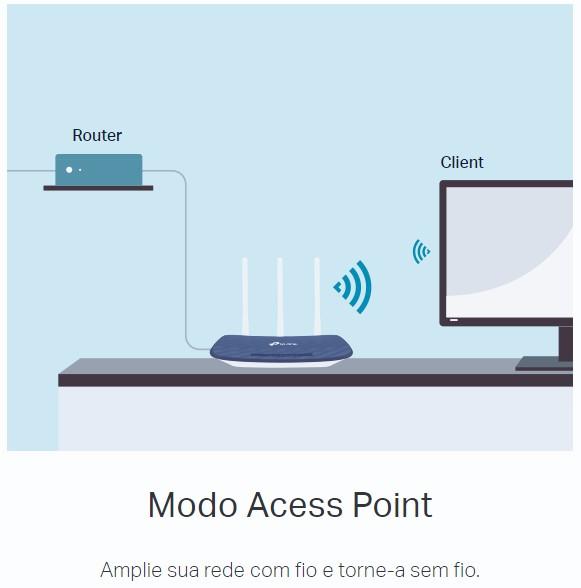 Roteador Wireless TP Link Gigabit ARCHER C20 AC750 Dual Band, 4 Portas LAN, 1 Porta WAN, 3 Antenas