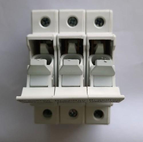 Seccionadora Porta Fusível P/ Energia Solar 1000VDC 3P Triplo - Sem Fusível