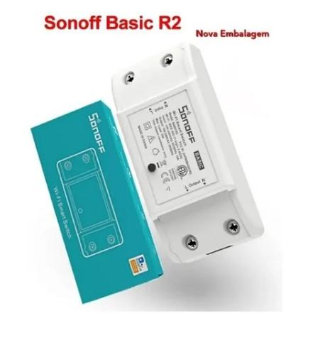 Sonoff Basic R2 Interruptor Wifi P/ Automação Residencial