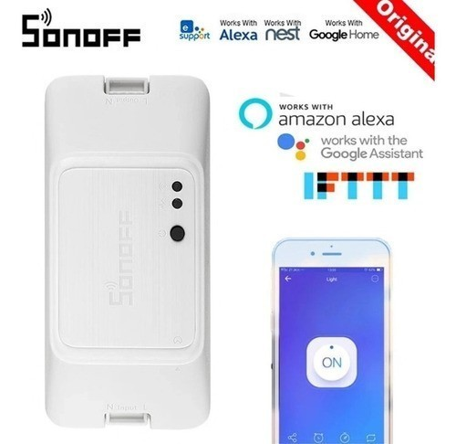 Sonoff Basic R3 Interruptor Wifi P/ Automação Residencial