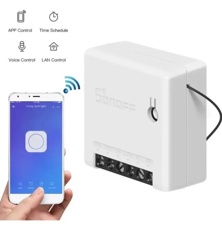 Sonoff Mini Interruptor Wifi P/ Automação Residencial