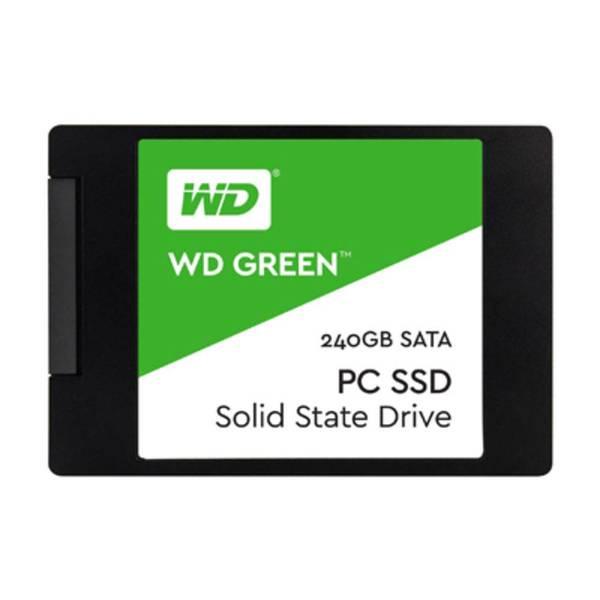 "SSD 240GB WESTERN DIGITAL GREEN SATA III 2,5"""