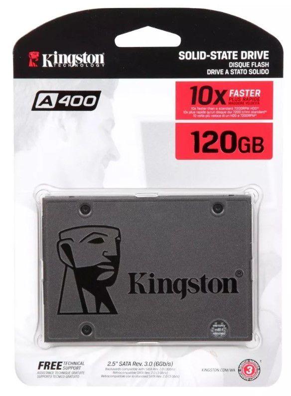 SSD Kingston 120GB A400 - SA400S37/120G
