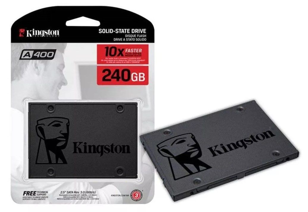 SSD Kingston 240GB A400 - SA400S37/240G
