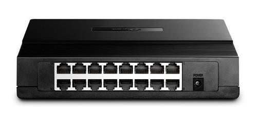 Switch 16 Portas TP-Link 10/100 Mbps TL-SF1016D