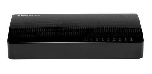 Switch 8 portas Gigabit Ethernet SG 800 Q+