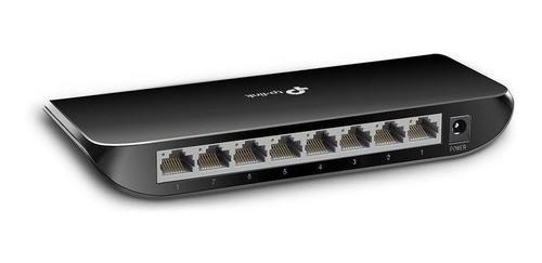 Switch Hub TP-Link TL-SG1008D 10/100/1000 8 Portas Giga