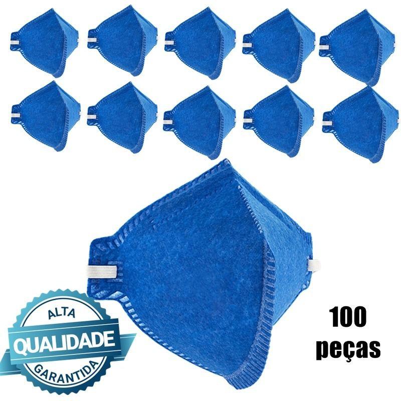 100 Máscara Respiratória Pro Safety Pff2 Pro Agro