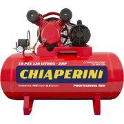 Compressor de Ar CHIAPERINI 10/110 Red RCH 110 Litros 2HP - Bivolt