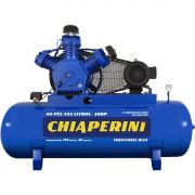 Compressor de Ar CHIAPERINI 40/425 Blue RCH 425 Litros 10HP