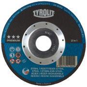 Disco De Corte Tyrolit A60q-bfka 115x1,0x22,23MM Premium New Generation