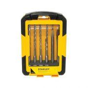 Jogo de Acessórios Stanley Sta4279-lac Sds Plus 12 Peças