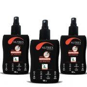 Kit 3 Repelente Spray Insetos Dengue Febre Amarela