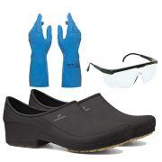 Kit Limpeza Geral Sapato Moov + Luva + Óculos