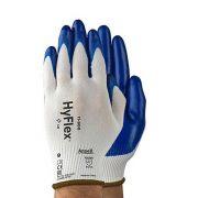 Luva Hyflex 11-900 Ansell Antiderrapante - Tamanho 09 - PAR