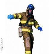 Máscara De Fuga Bombeiro Linha de Ar C/ Cilindro de Fuga Premaire Cadet