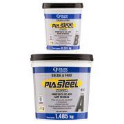Plasteel Massa 4:1 Solda a Frio 450g Quimatic PQ1