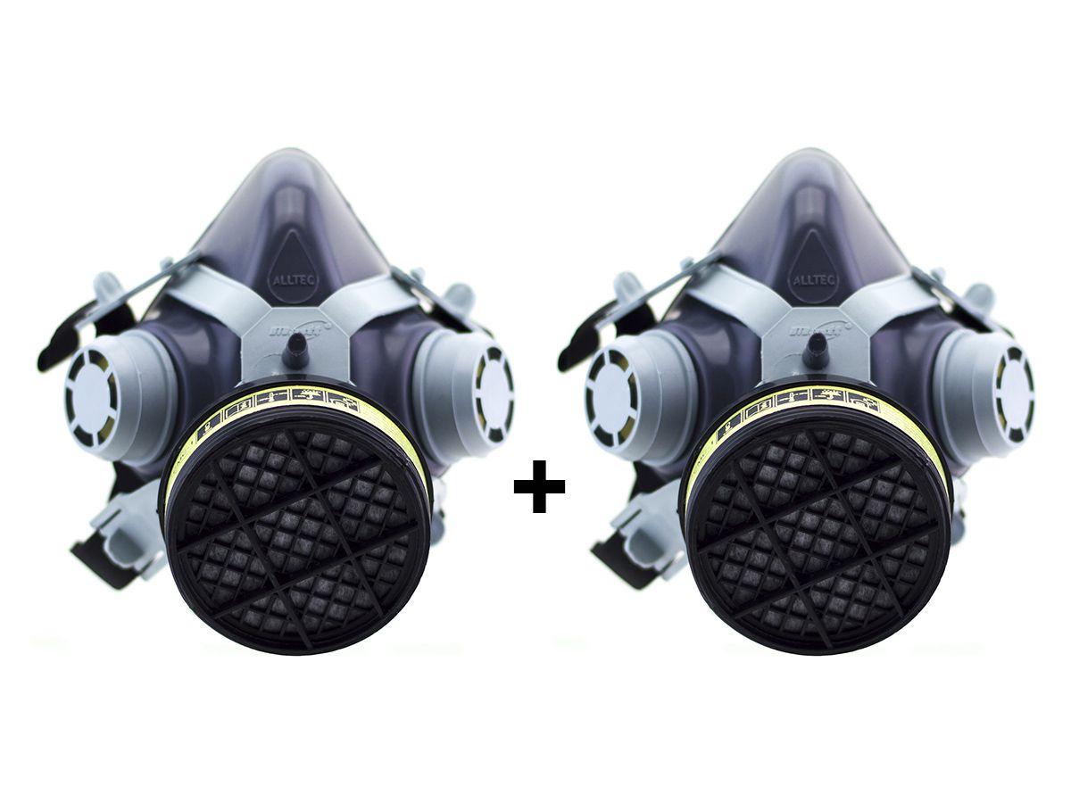 2 Máscara Destra C/ Filtro VO/GA