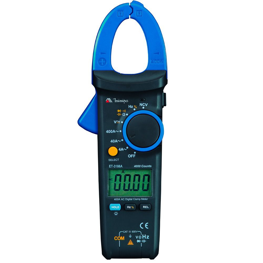 Alicate Amperímetro Digital - Minipa ET-3166A