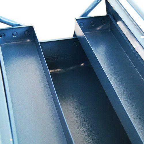 Caixa de Ferramentas C/ 3 Gavetas Azul Marcon 350