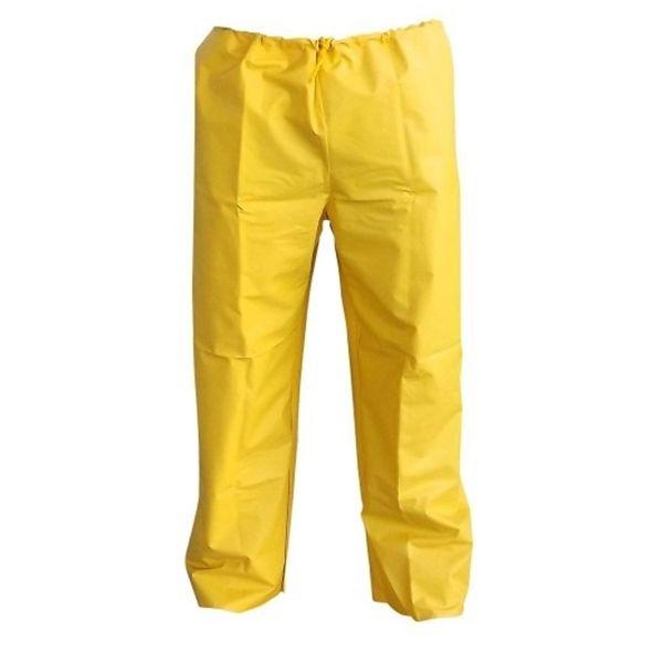 Calça em Pvc Forrado Amarela - Capseg
