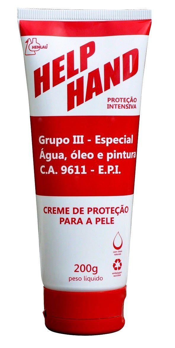 Creme De Proteção Help Hand Para Mãos | Luva Química
