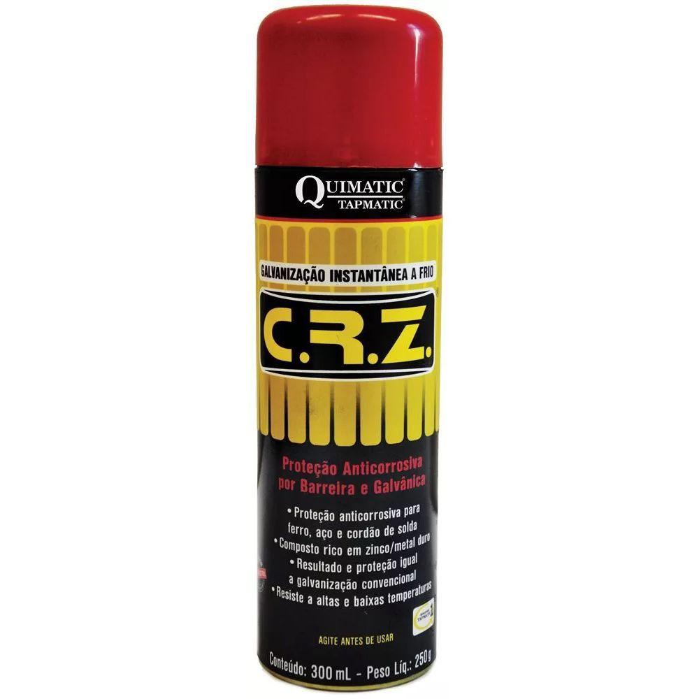Crz Galvanização a Frio Spray 300 ML Dm1 Quimatic